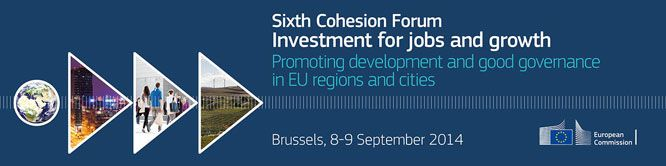 SIXTH COHESION FORUM – Investment for jobs and growth