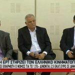 Εφαρμογή του νόμου για το 1,5% από την ΕΡΤ