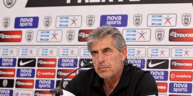Αναστασιάδης: «Τα φαβορί φαίνονται στο γήπεδο»